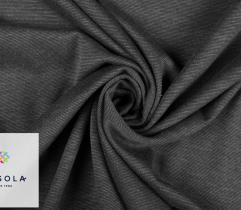 Knitted Fabric Punto – Dark Grey