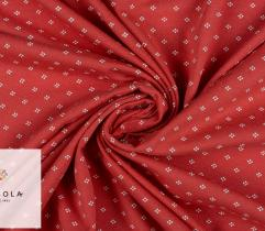 Jersey Single – Dots on Coral Pink