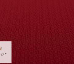 Knitted Fabric structure 3D - Red