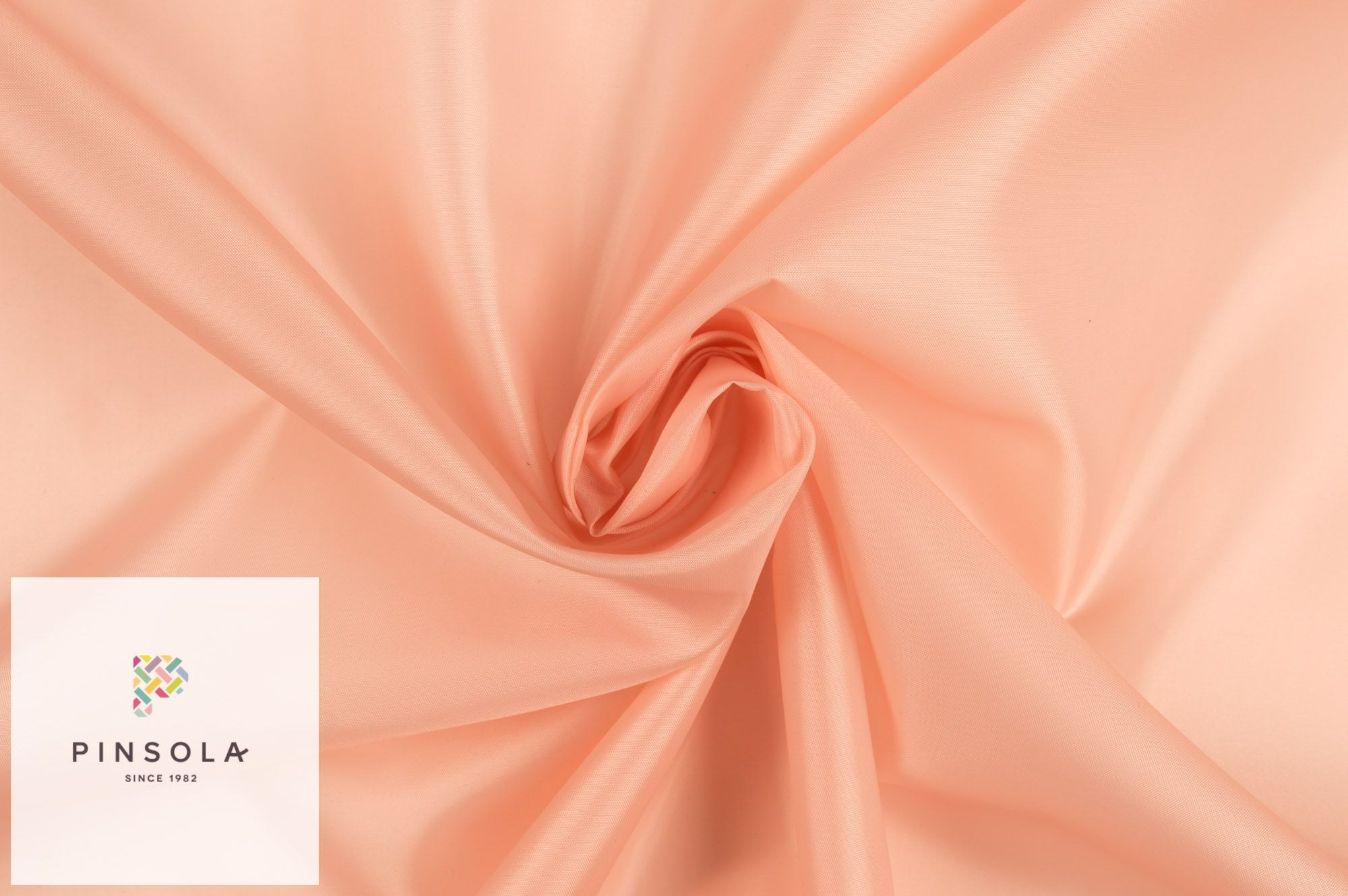 Woven Lining Fabric - Peach Pink