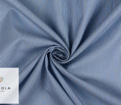 Tkanina Premium - Błękitne Paseczki