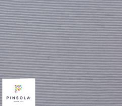 Woven Premium Fabric - Navy Blue and White Stripes