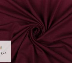 Knitted Fabric Viscose - Dark Burgundy