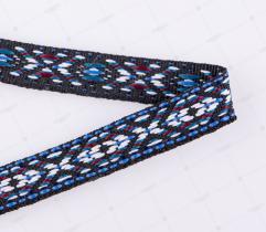 Ribbon Ethnic Motifs - 13 mm