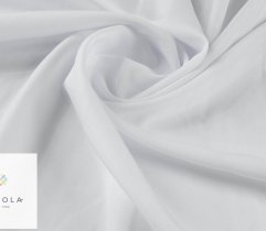 Stretch Poliester 320 cm - Biały