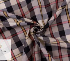 Woven Premium Fabric - Tartan Check