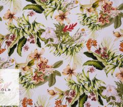 Woven Fabric Satin – Tropical Forest
