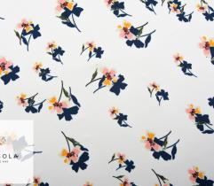 Woven Fabric Satin – Small Flowers