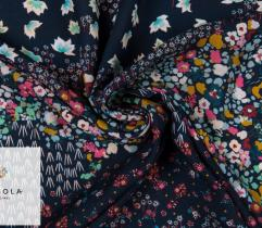 Woven Viscose Fabric – Colourful Meadow