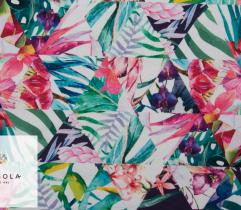 Knitted Fleece Fabric – Cubist Tropics