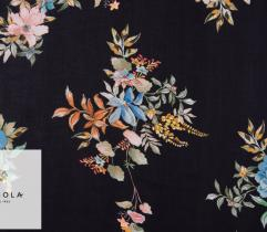 Woven Viscose Fabric – Pastel Bouquets
