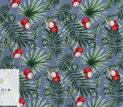 Woven Visose Fabric – Grey Malibu