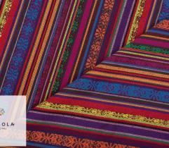 Żakard Dekoracyjny Meksykański - Żółty