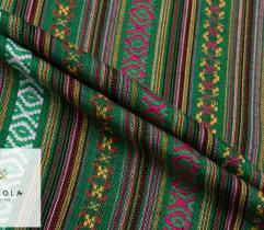 Żakard Dekoracyjny Meksykański - Zielony