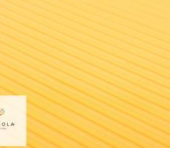 Tkanina Krepa Plisowana – Żółta