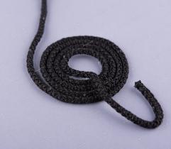 Sznurek Poliestrowy – Czarny 1,5 m