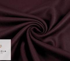 Tkanina Verona Premium - Bordowa Podklejona