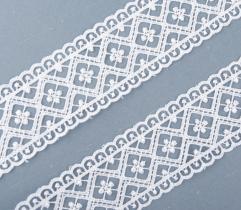 Guipure 5 cm - White Diamonds