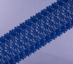 Gipure 8 cm - Blue Flowers