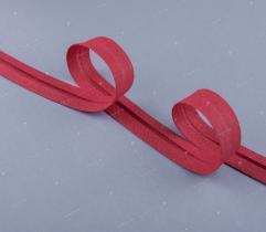 Lamówka Bawełniana 18 mm - Czerwona