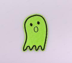 Termoaplikacja - Duszek Neon Zielony