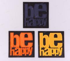 Termoaplikacja - Be Happy