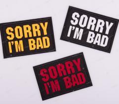 Termoaplikacja - Sorry I'm Bad