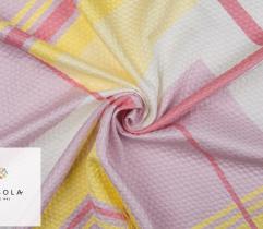 Woven Jacquard Fabric - Geometric Pattern