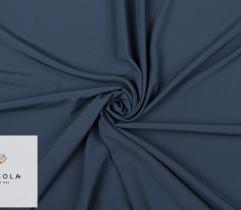 Woven Zig-zag Fabric - Navy Blue