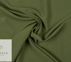 Oxford Woven Fabric - Olive Green