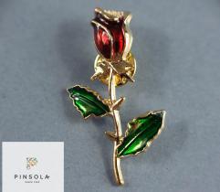Przypinka Pin - Złota Róża