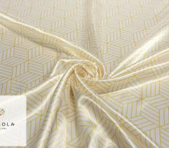 Tkanina Atłasowa - Złoty Wzór