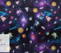 Tkanina Bawełniana - Kosmos