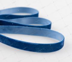 Velvet Ribbon 13 mm - Navy Blue