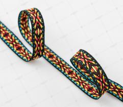 Ribbon Ethnic Motifs - Coloful