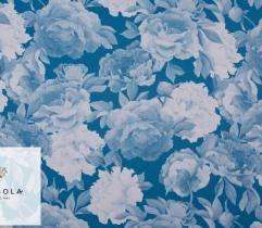 Tkanina Barbie Classic Blue - Peonie