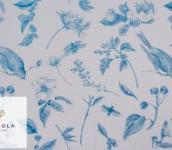 Woven Fabric Silki Classic Blue - Nature