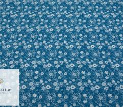 Woven Fabric Silki Classic Blue - Meadow