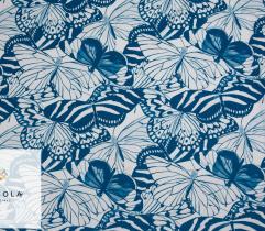 Tkanina Silki Classic Blue - Motyle