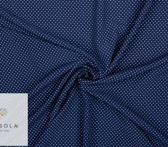 Tkanina Silki - Kropeczki na Granacie
