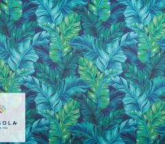 Tkanina Poliestrowa 260 g - Niebieska Dżungla
