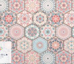 Tkanina Poliestrowa 260 g - Kolorowa Mozaika