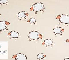 Tkanina Bawełniana – Owieczki