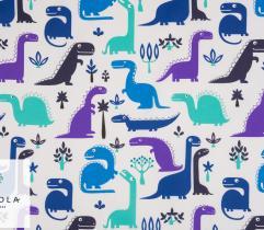 Tkanina Bawełniana – Dinozaury
