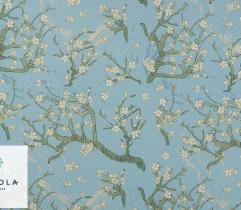 Tkanina Silki - Kwitnący Migdałowiec van Gogh