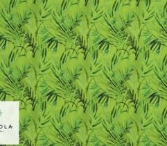 Tkanina Silki - Zielone Paprocie