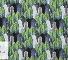 Tkanina Silki - Architektura Liści