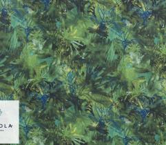 Tkanina Szyfon - Zielona Inspiracja Versace