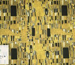 Tkanina Barbie - Złota Mozaika Gustav Klimt
