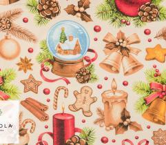 Tkanina bawełniana - Magia Świąt